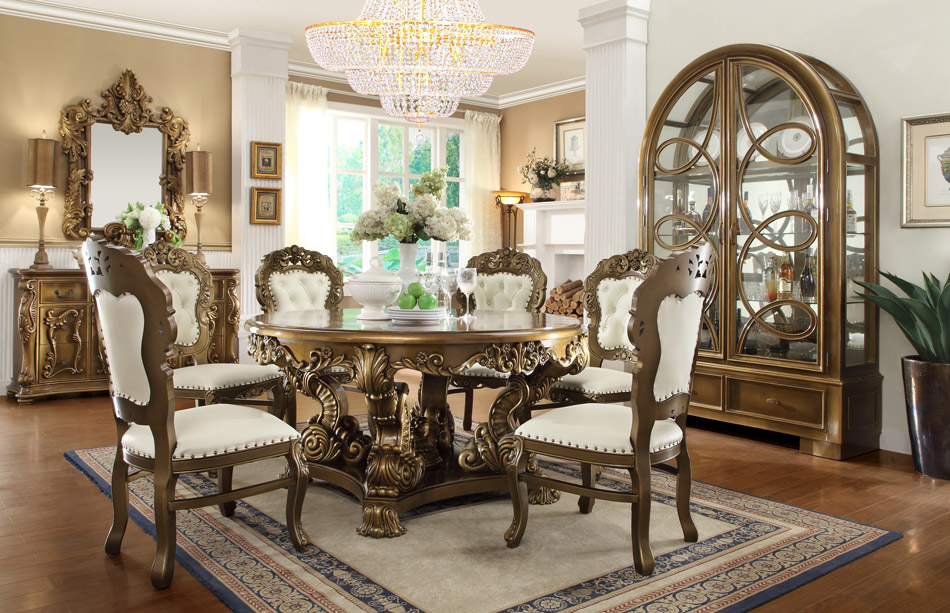 Hd 8008 Dining Table Wholesale Unique Furniture